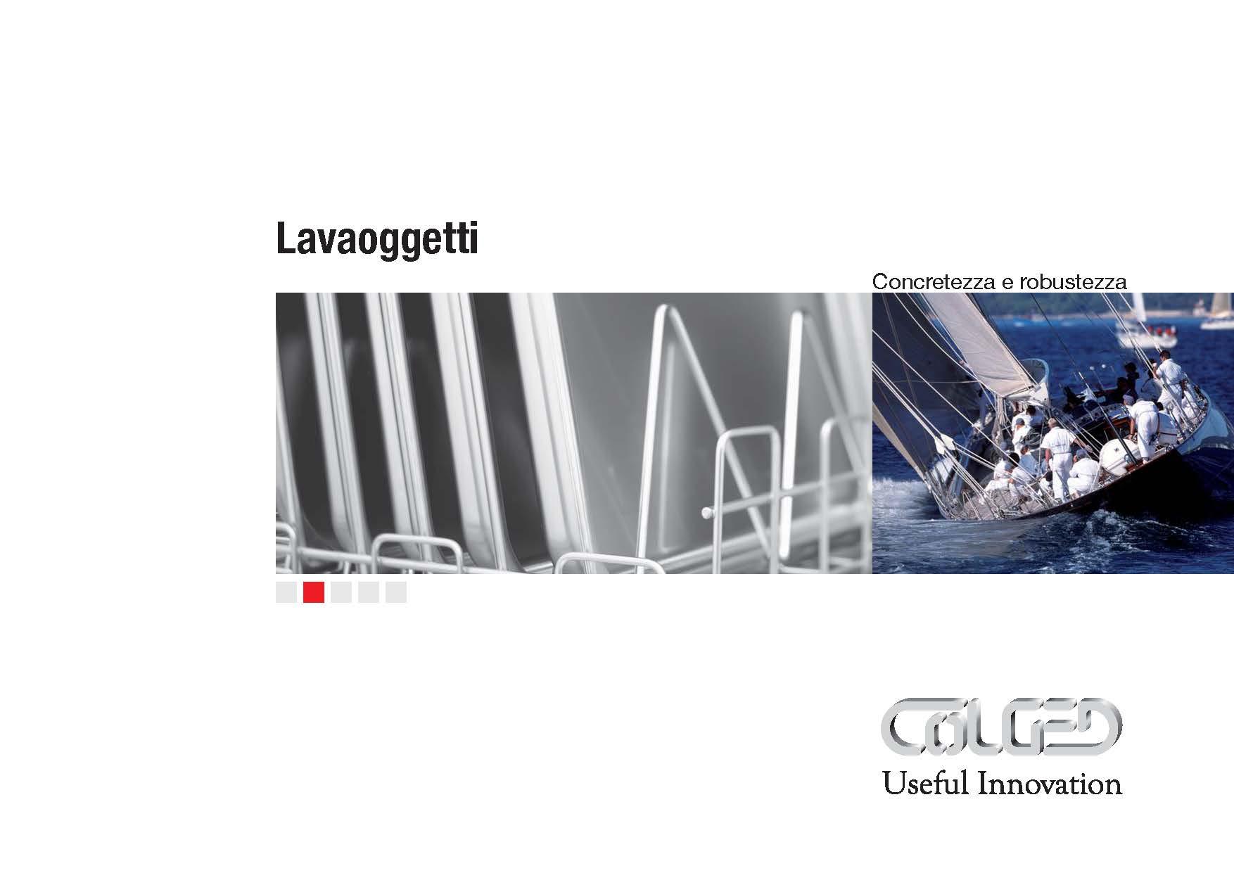 Colged – Catalogo Lavaoggetti