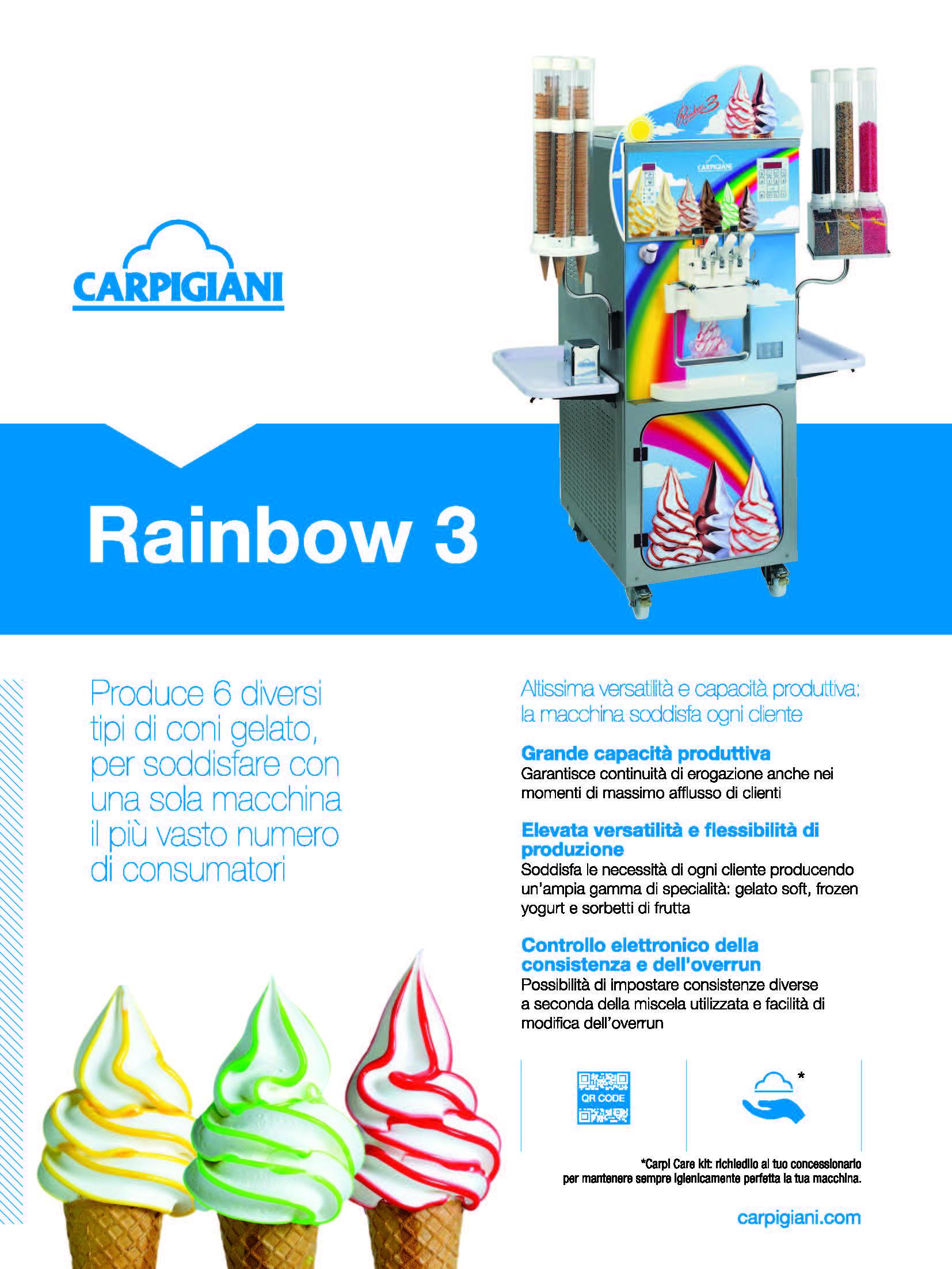 Carpigiani – Rainbow 3