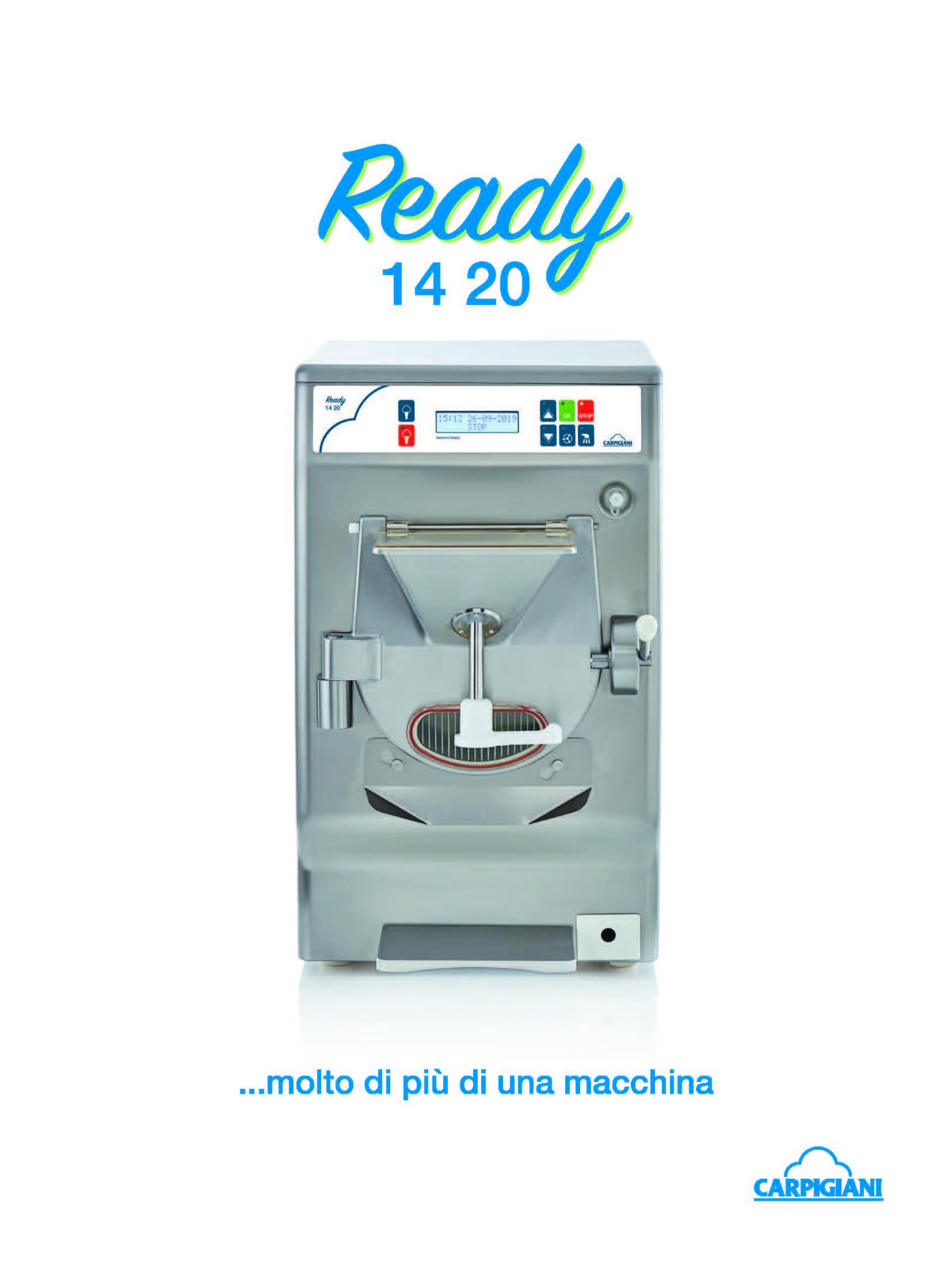 Carpigiani – Ready 14 20