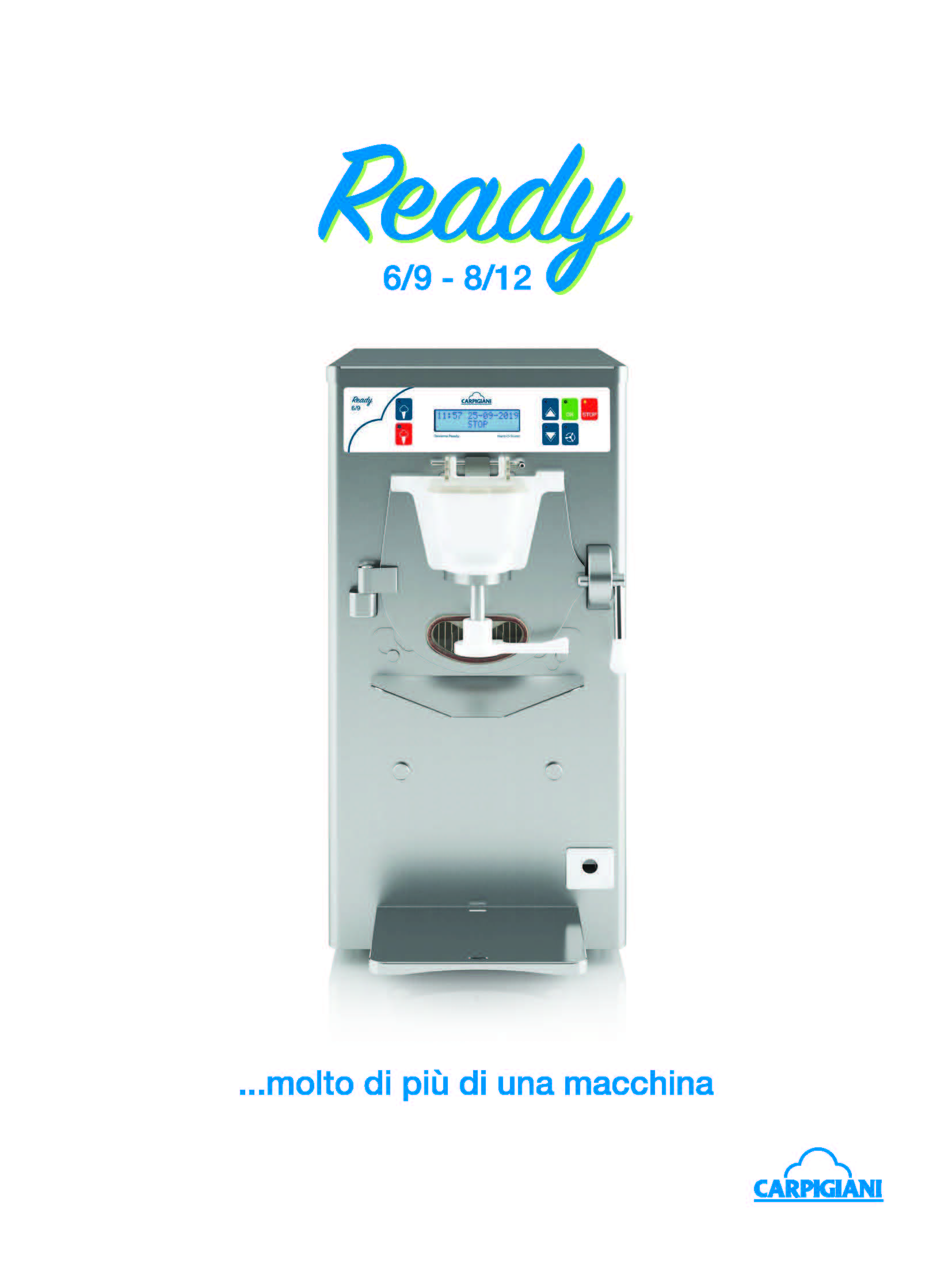 Carpigiani – Ready 6 9 8 12