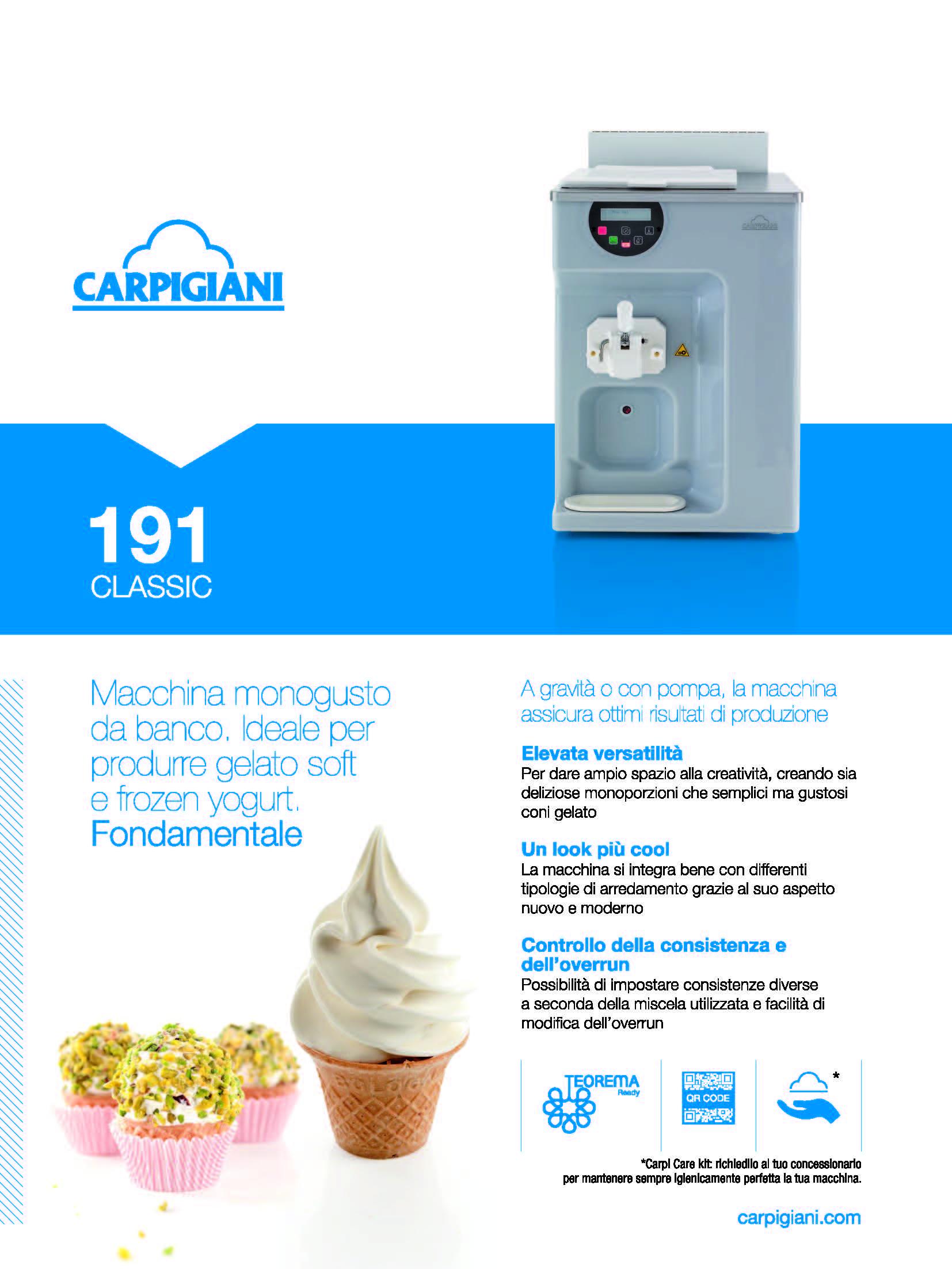 Carpigiani – 191 Classic