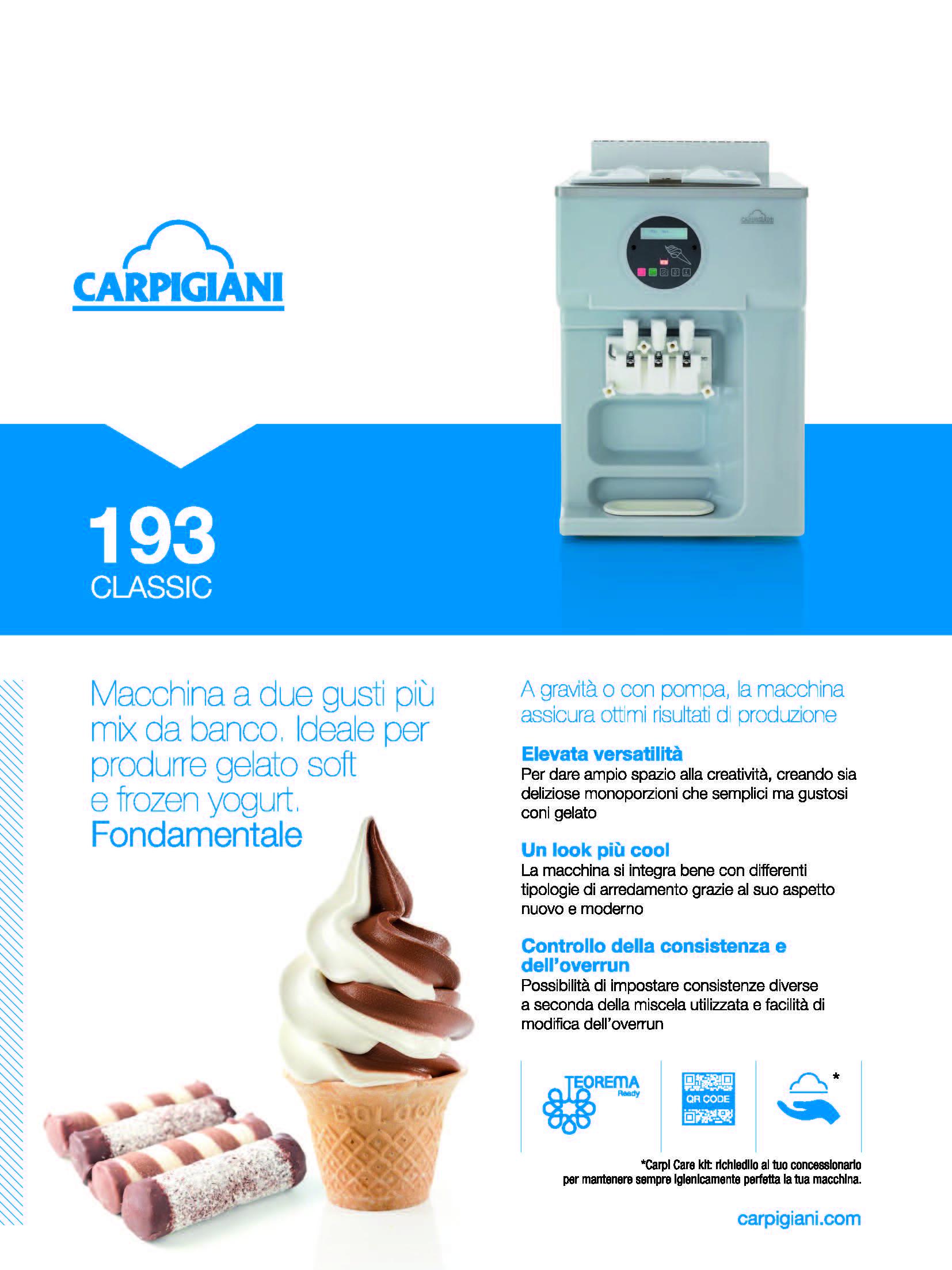 Carpigiani – 193 Classic