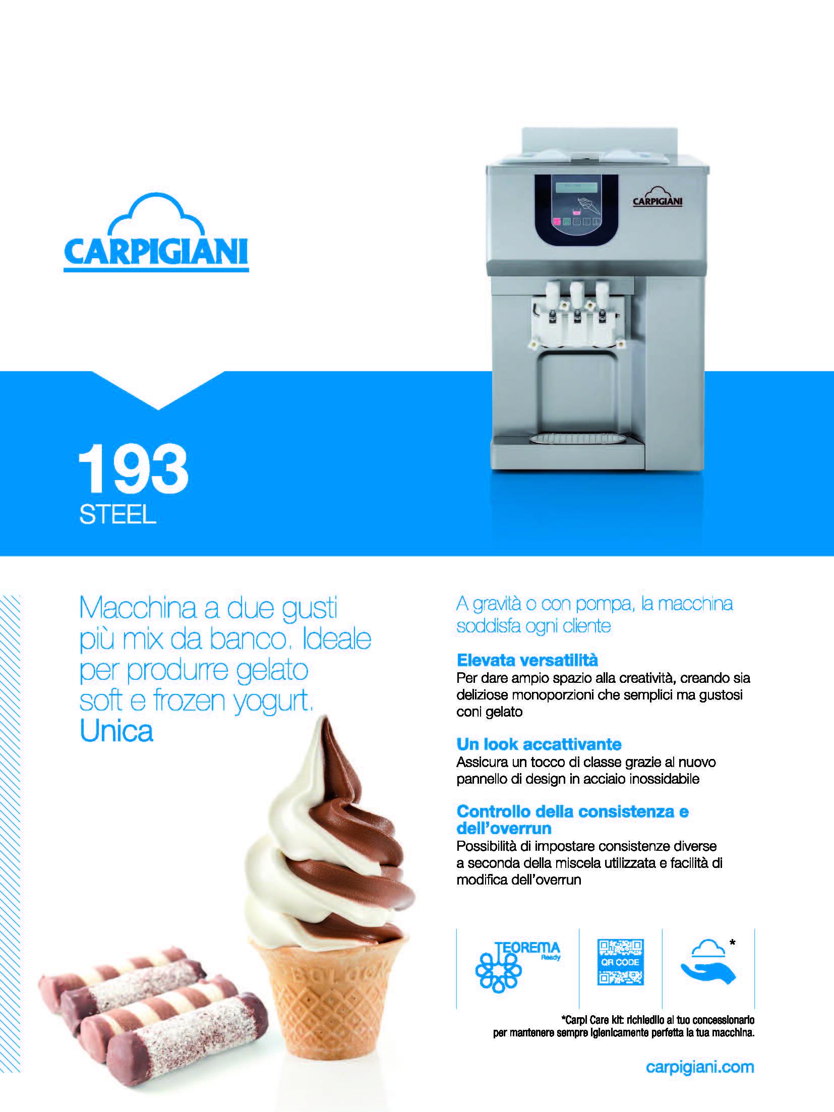 Carpigiani – 193 Steel