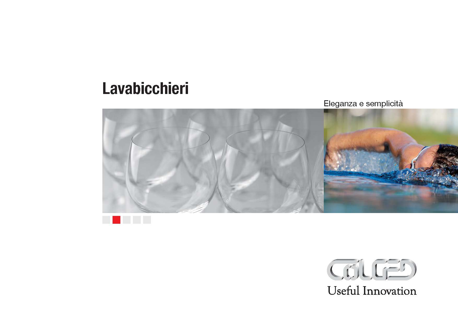 Colged – Catalogo Lavabicchieri