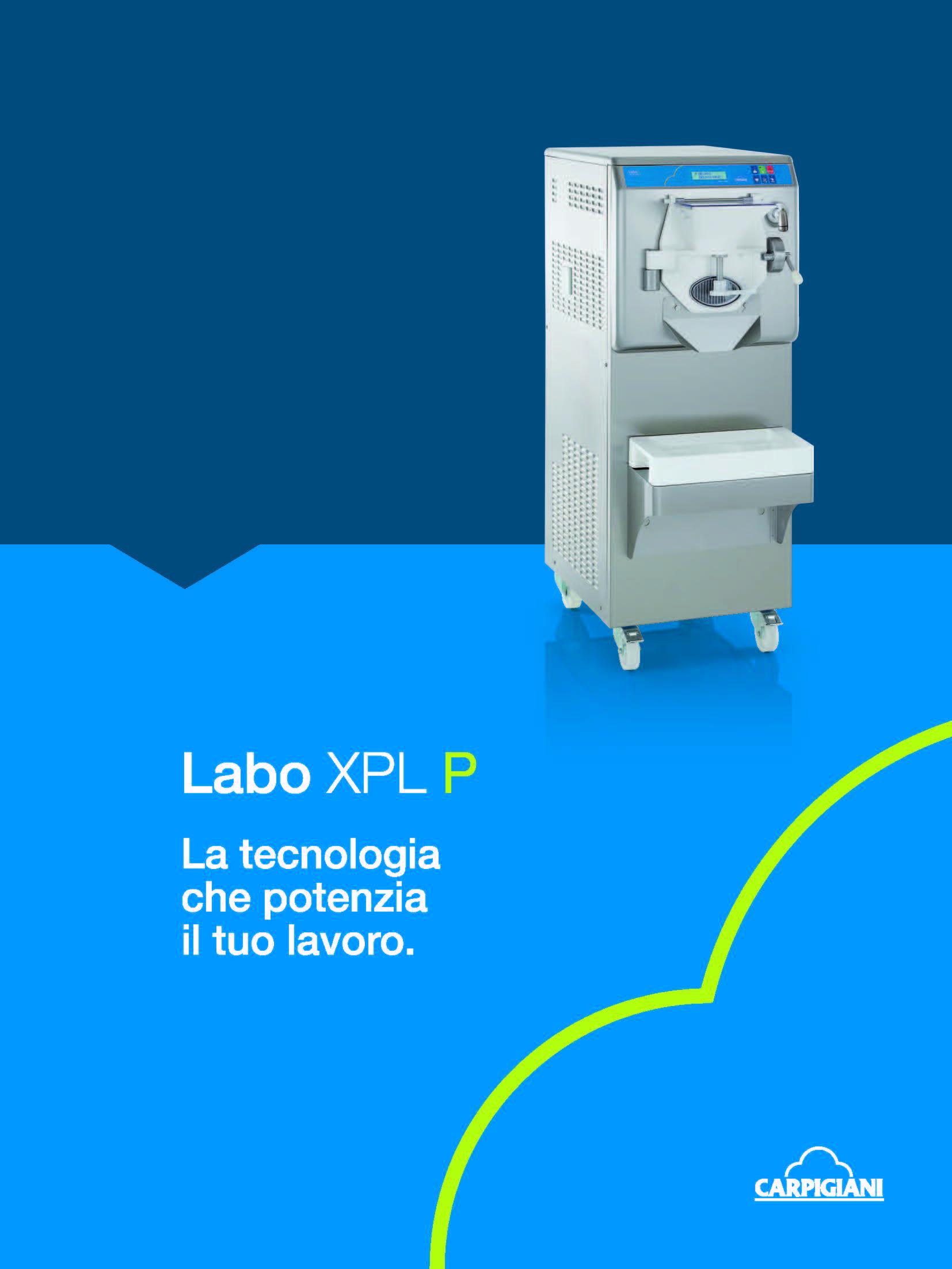 Carpigiani – Labo XPL P12
