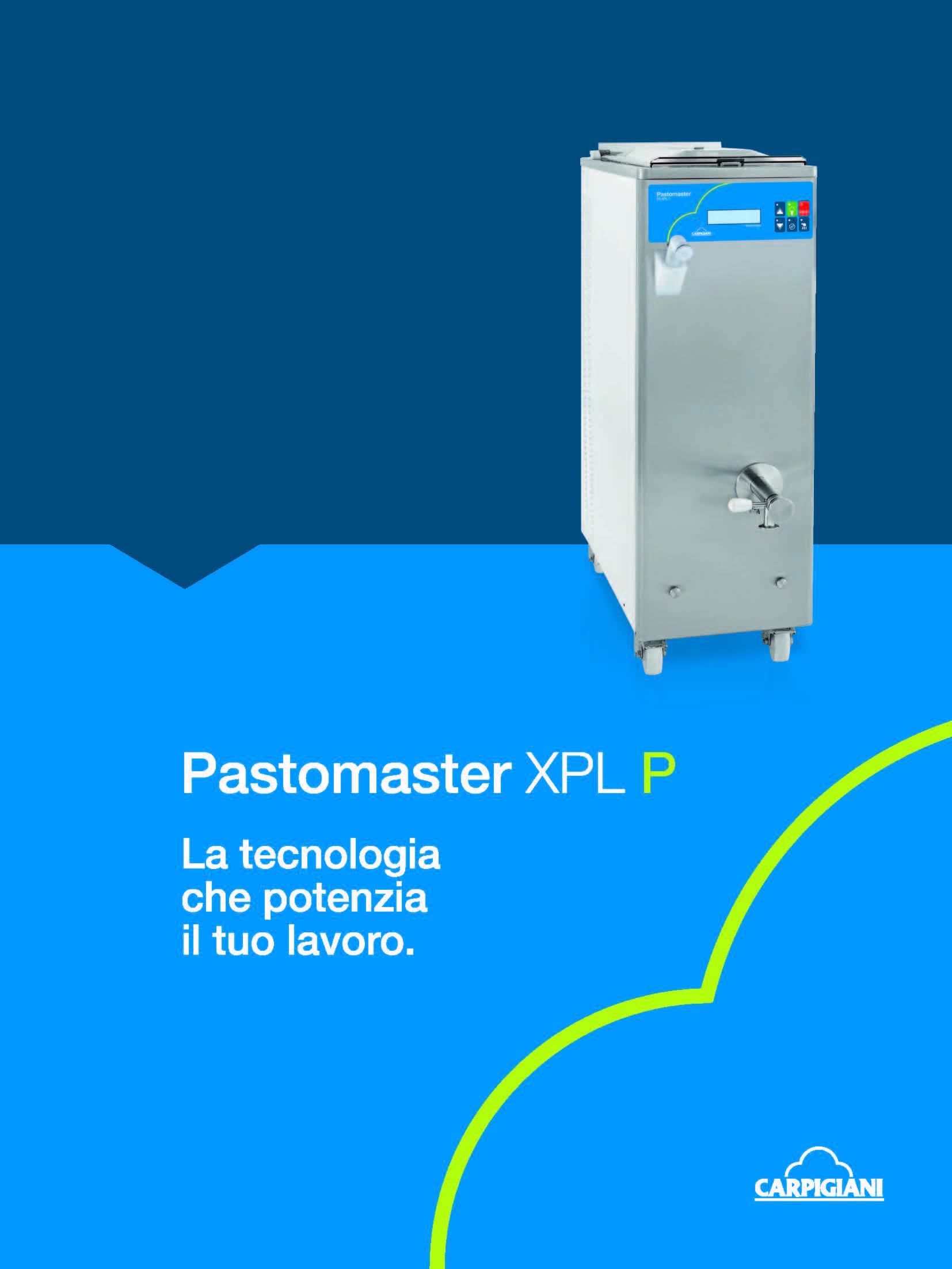 Carpigiani – Pastomaster XPL P