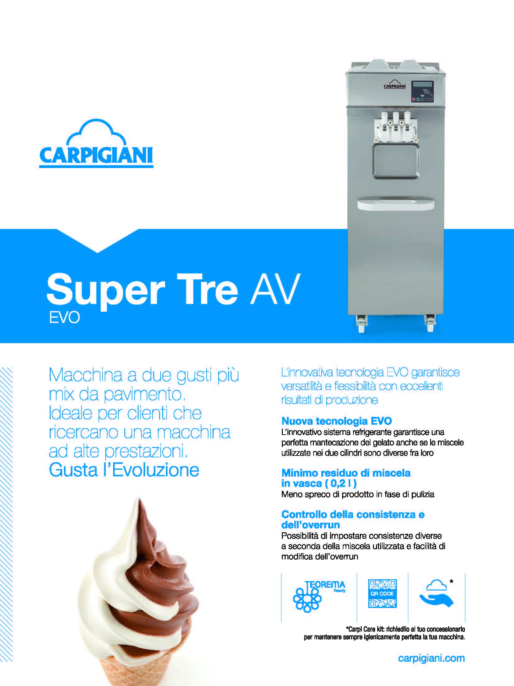 Carpigiani – Super 3 AV EVO