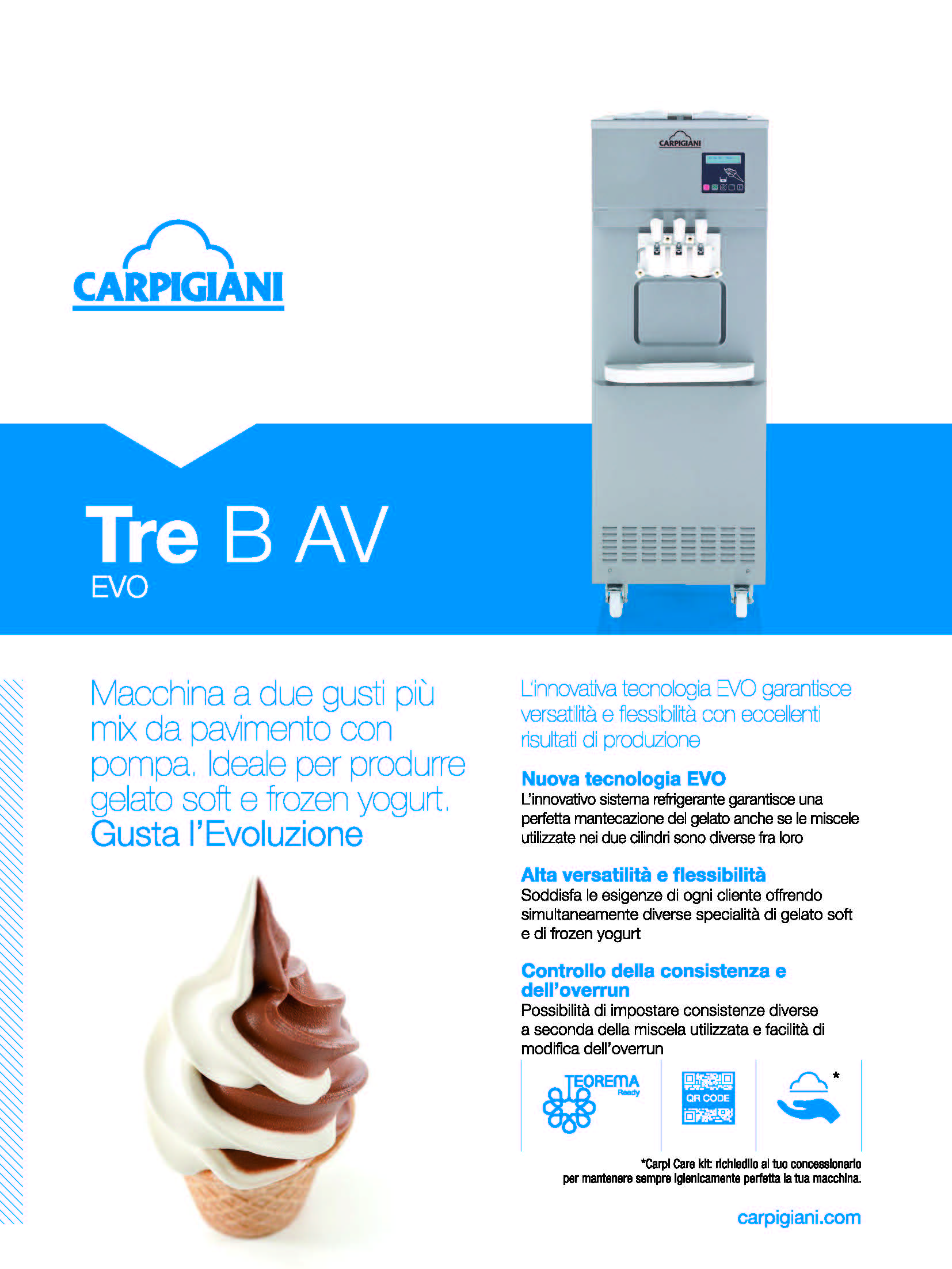Carpigiani – Tre B AV EVO