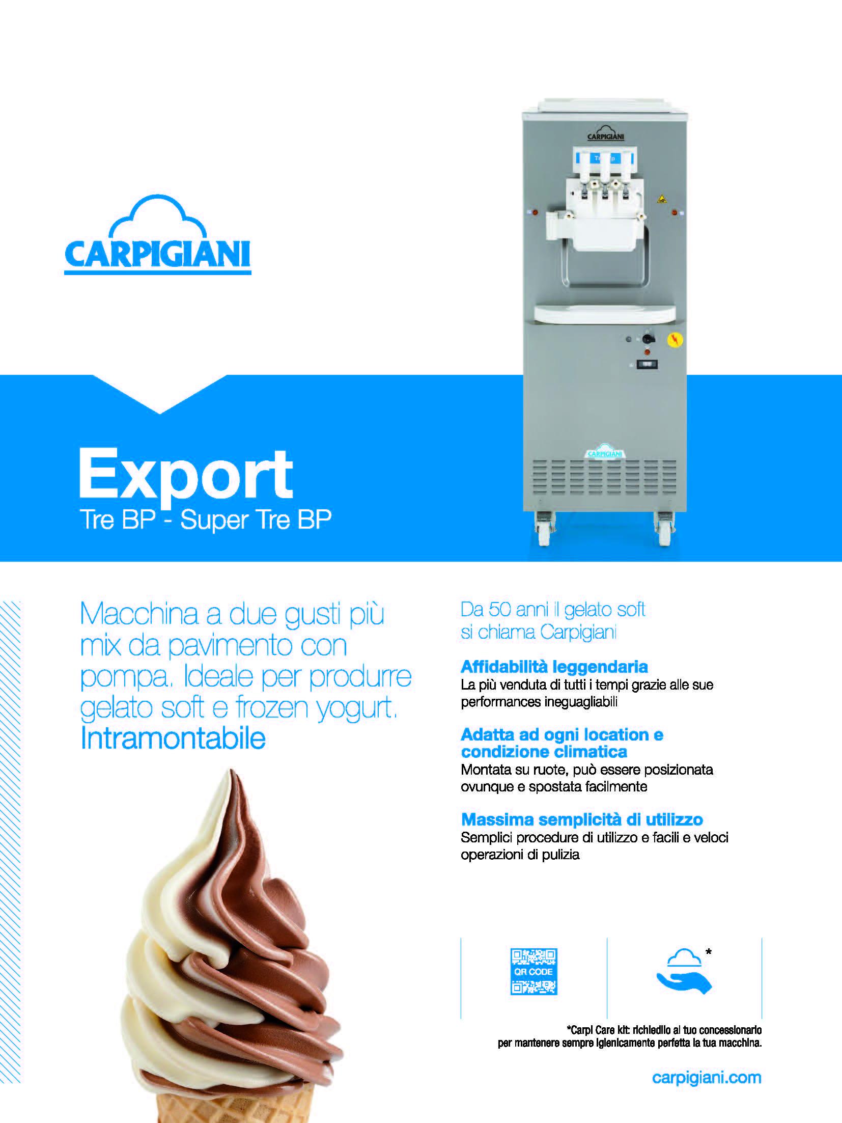 Carpigiani – Tre BP Super Tre BP